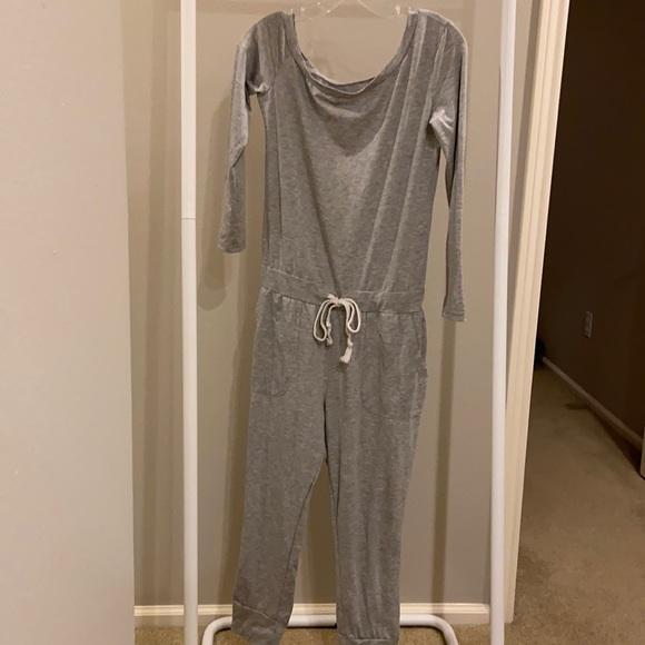 SHEIN Grey Jumpsuit